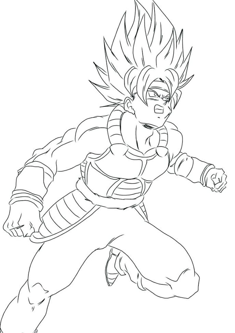 dragon ball z drawings step by step
