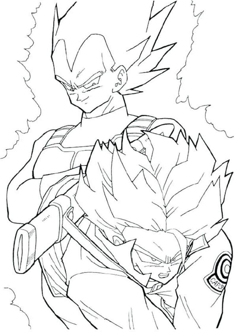 dragonball z picture Printable