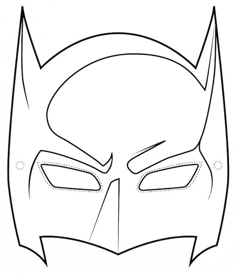 drift mask coloring page