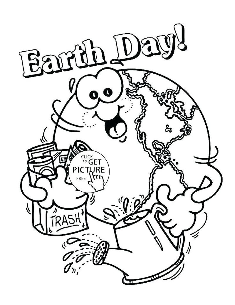 e is for earth coloring pages