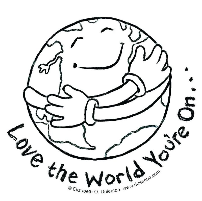 earth countries coloring pages