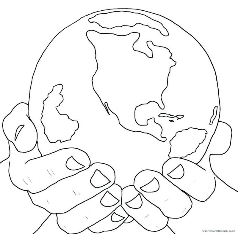 earth day coloring pages clipart