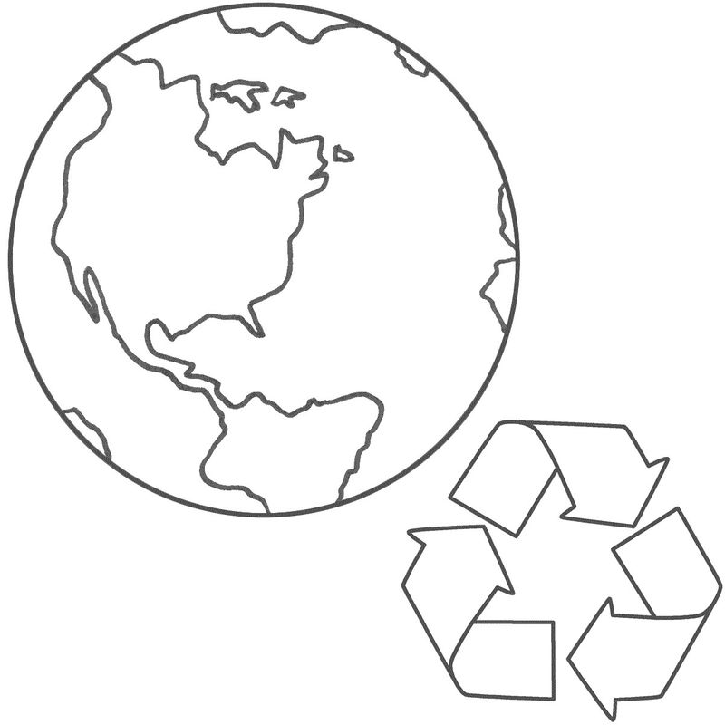 earth day coloring pages kindergartenPrintable