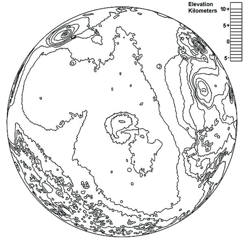 earth in space coloring pages 1