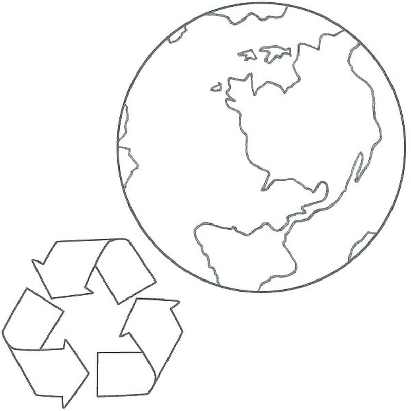 earth pledge coloring pages