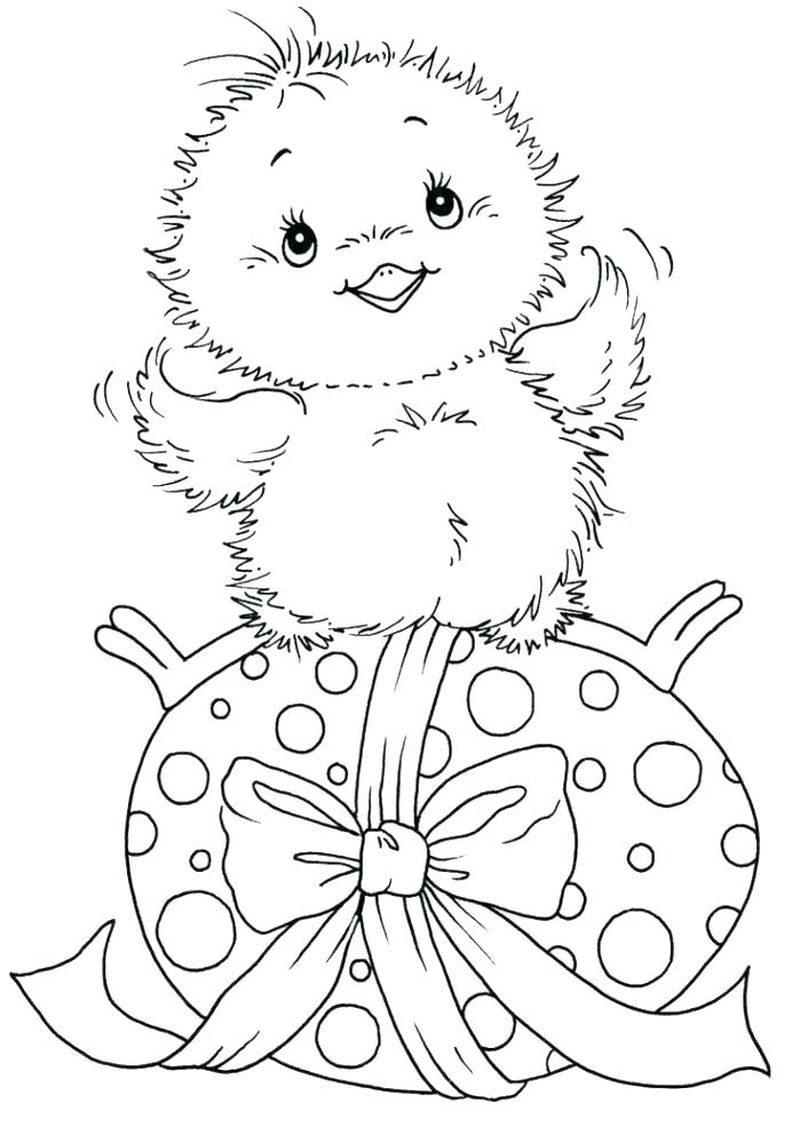easter egg pictures coloring pages