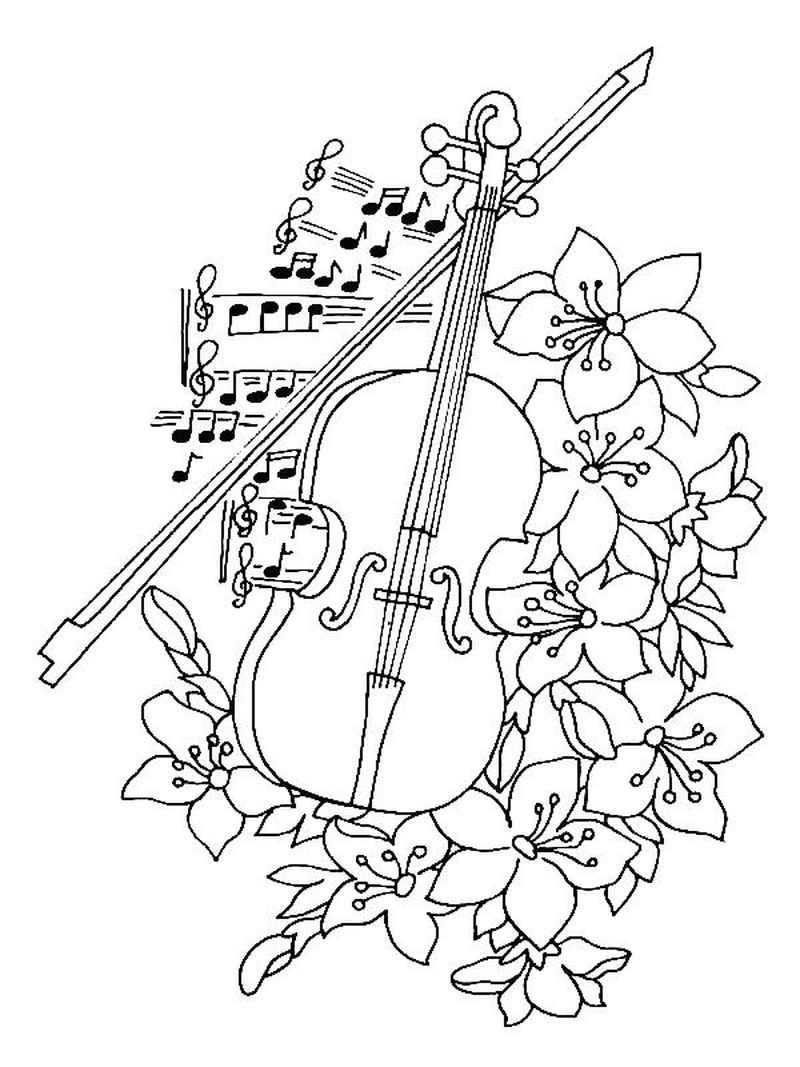 easter music coloring pages