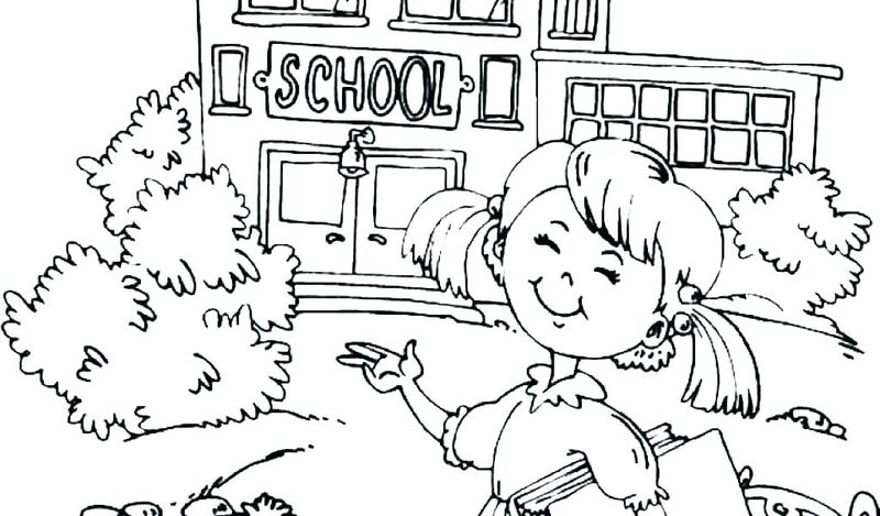 end of the school year coloring pages