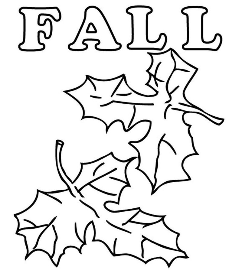fall coloring pages for adultsPrintable