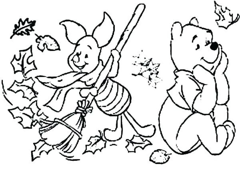 fall coloring pages print