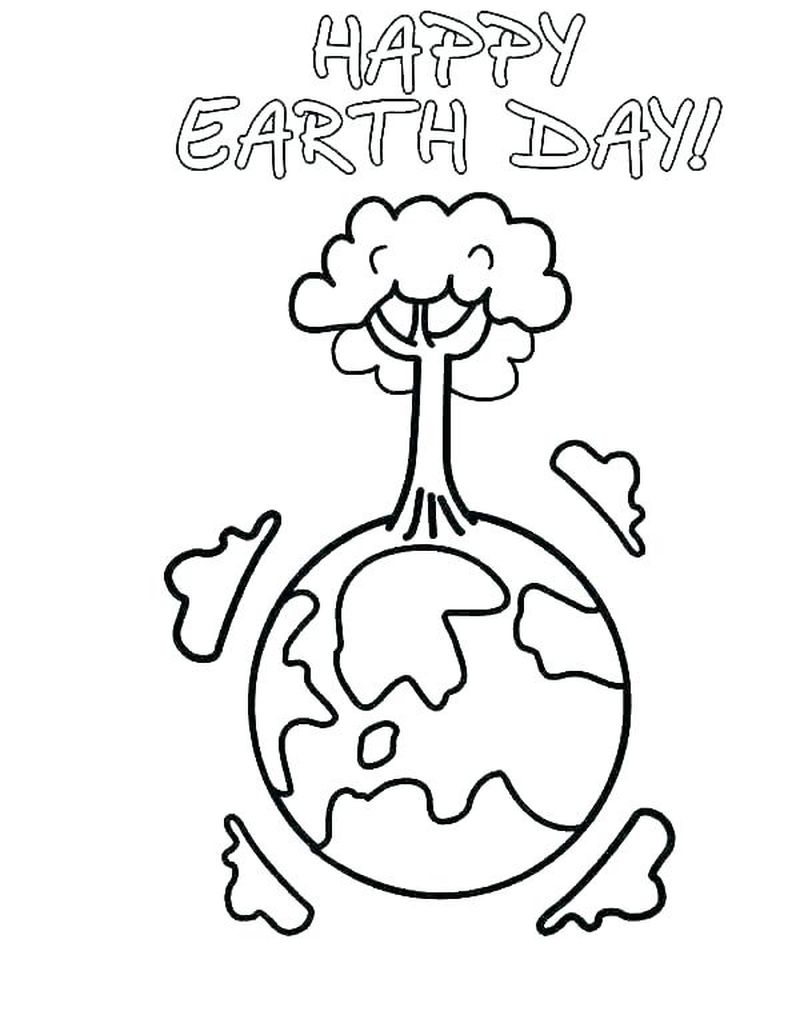 free PRINTABLE coloring pages of earth for adults only