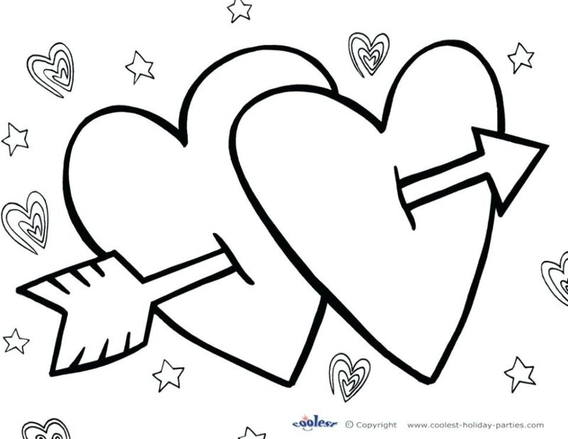 free PRINTABLE valentines day coloring pages Printable
