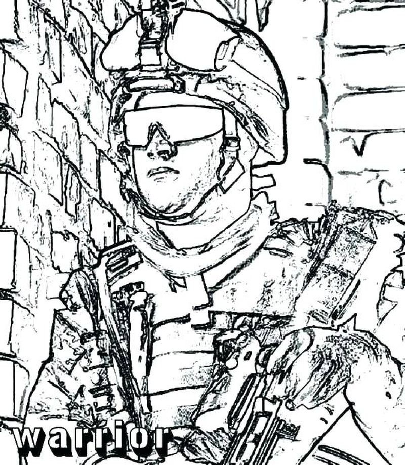 free army coloring pages Printable