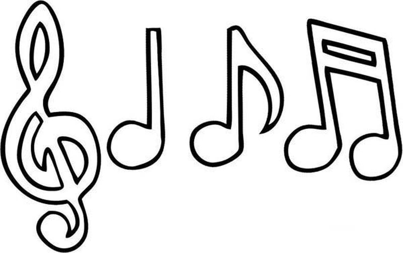 free coloring book pages music