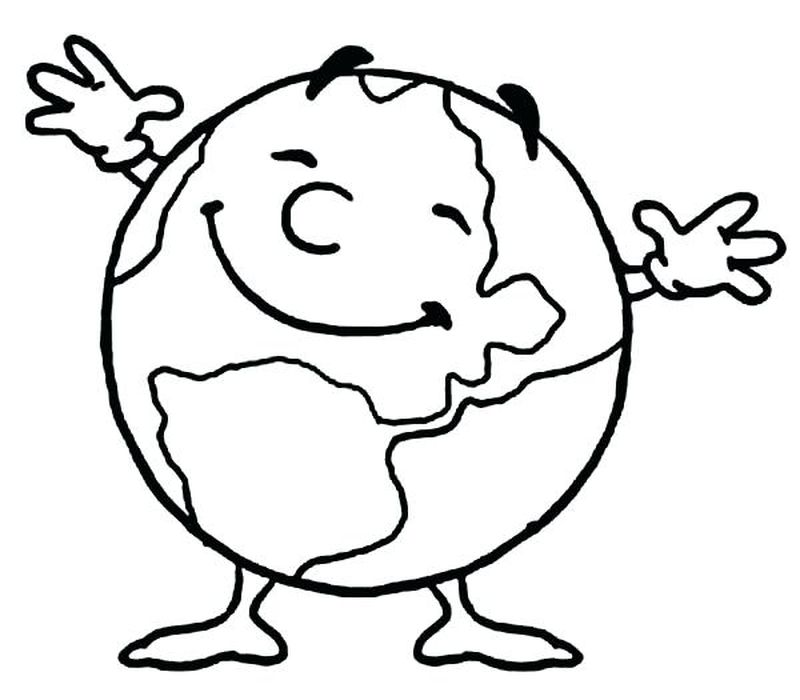 free coloring pages earth dayPrintable