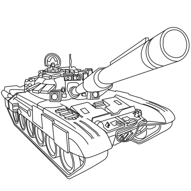 free coloring pages of army tanks Printable