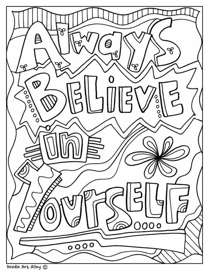 free inspirational adult coloring pages