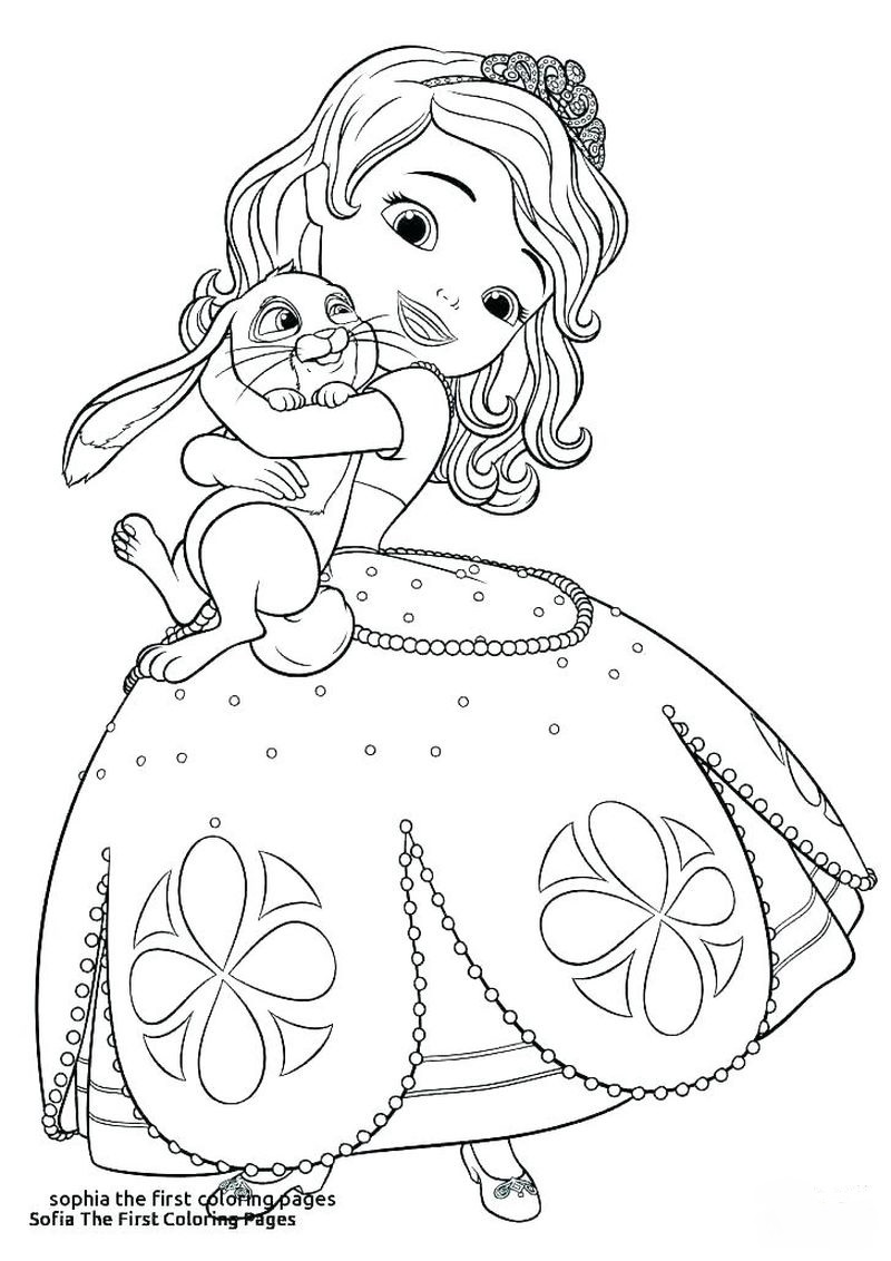 free sofia coloring pages Printable
