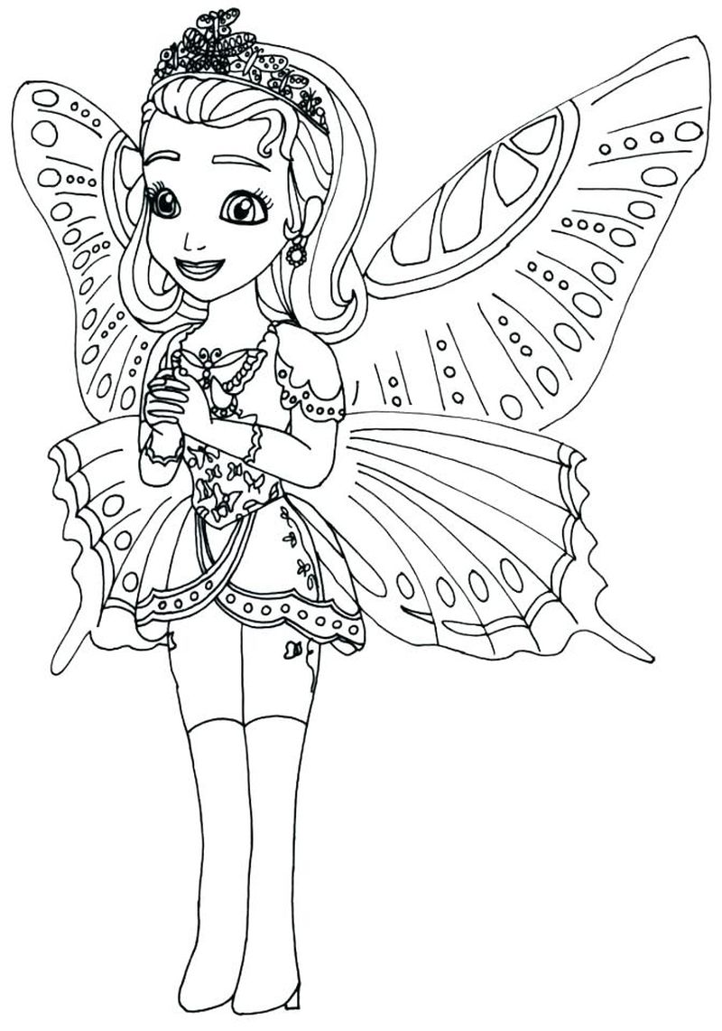 free sofia coloring pages