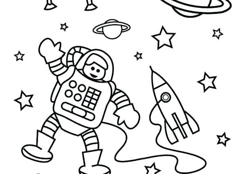 free space coloring pages Printable