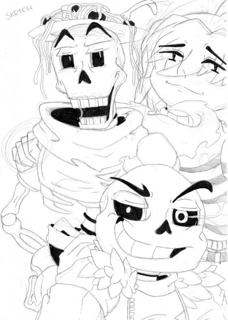 free undertale gaster coloring pages
