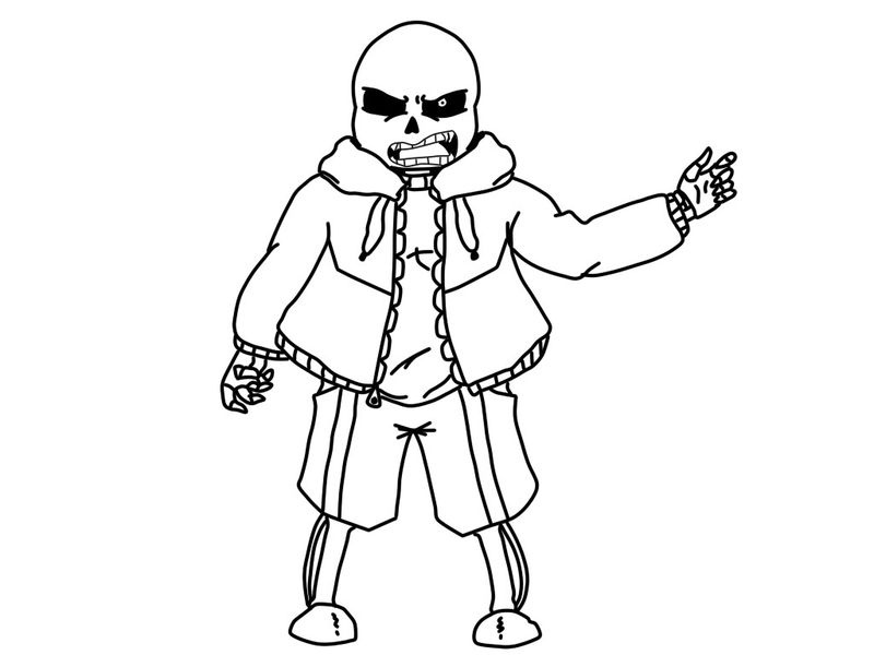 free undertale gastor coloring pages Printable