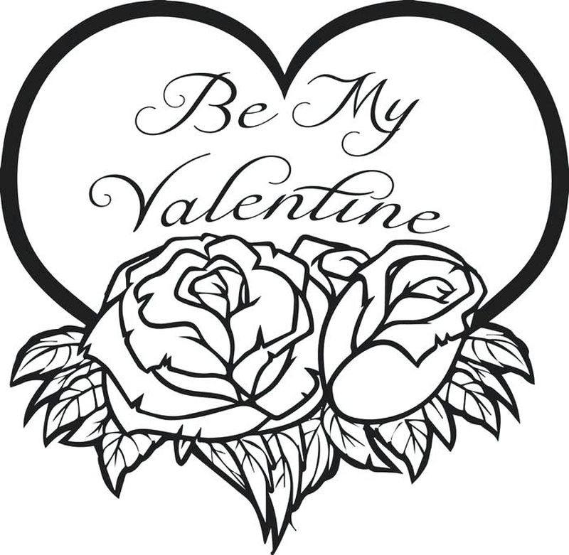 free valentines coloring pages Printable