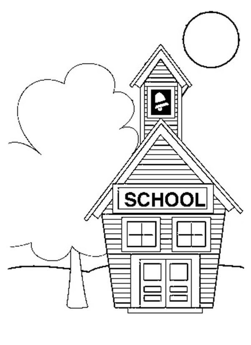 froggy goes to school coloring pages