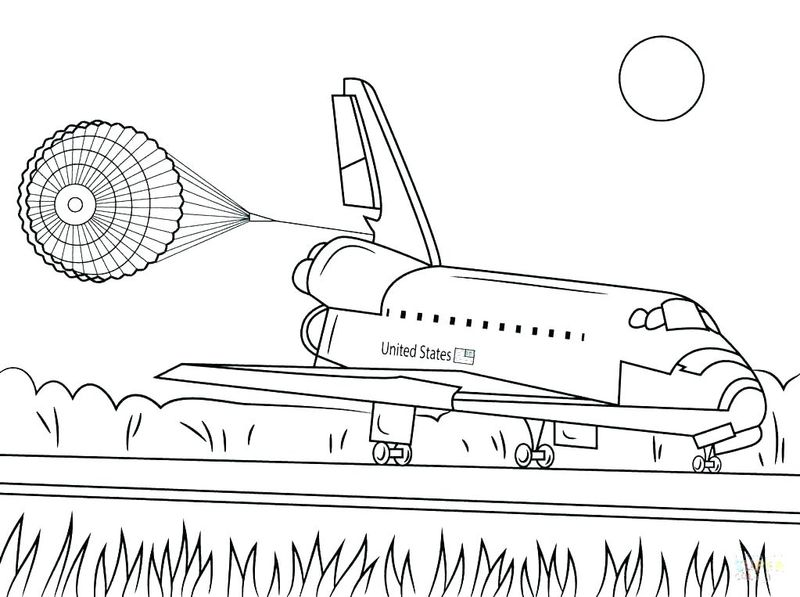 fun space coloring pages
