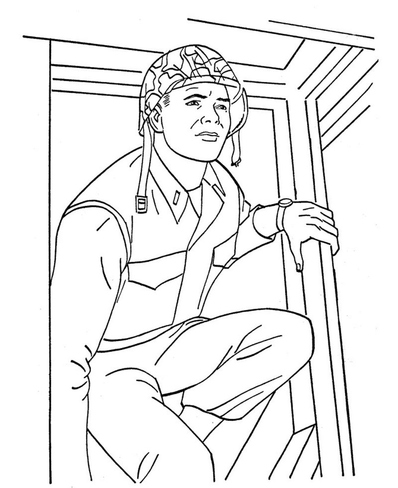 gideons army coloring pagesPrintable