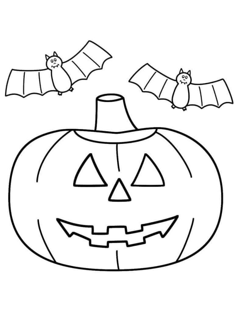 halloween jack o lantern coloring pages print