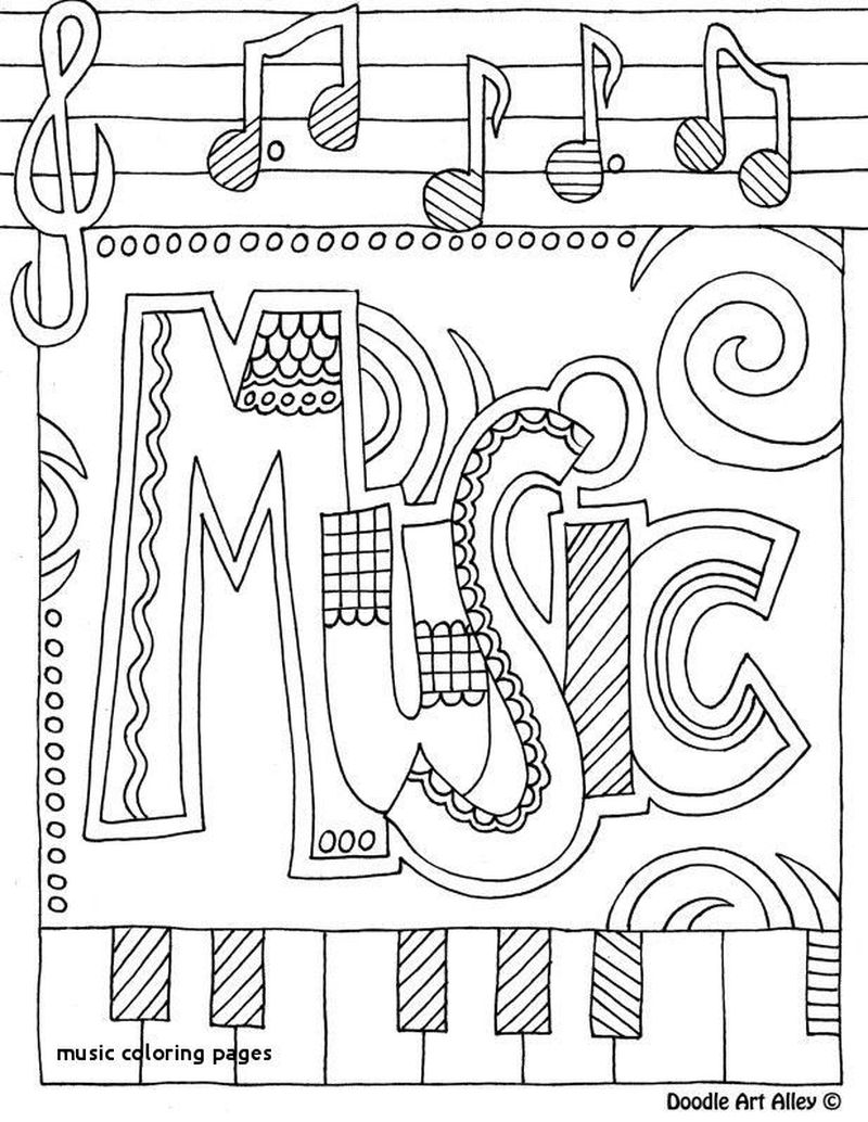 halloween music coloring pages free