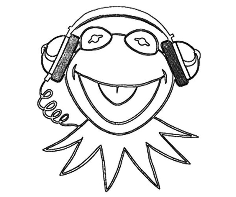 halloween music coloring pages