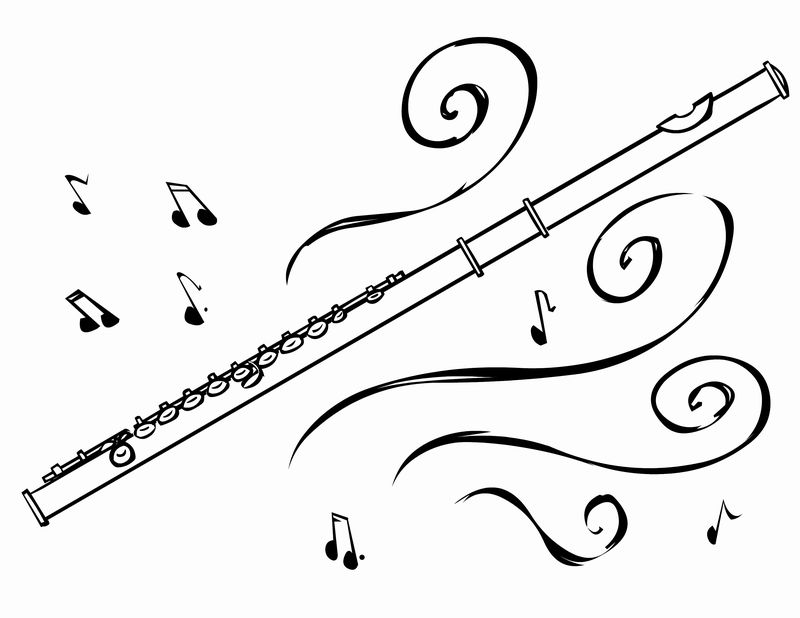 holiday music coloring pages