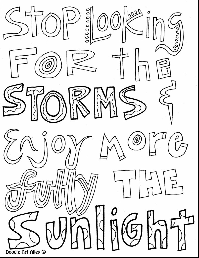 inspirational calming coloring pages free