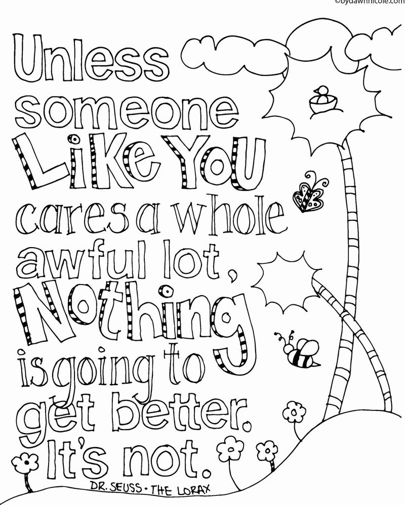 inspirational quote coloring pages for adultsPrintable