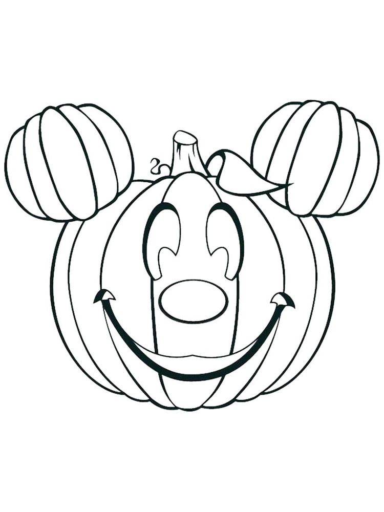 j is for jack o lantern coloring page print