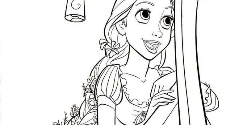 jasmine coloring pictures