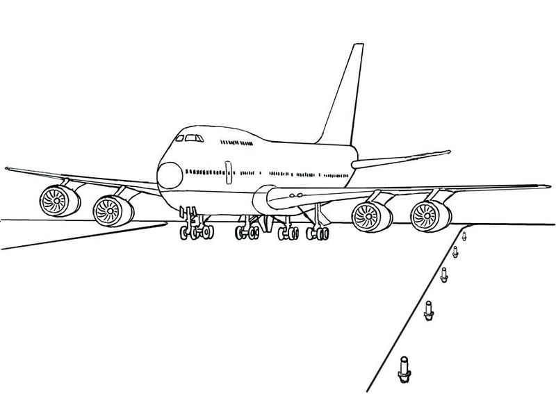 jet planes coloring pages