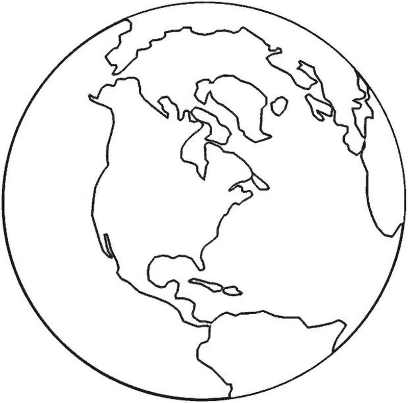 lds coloring pages earth