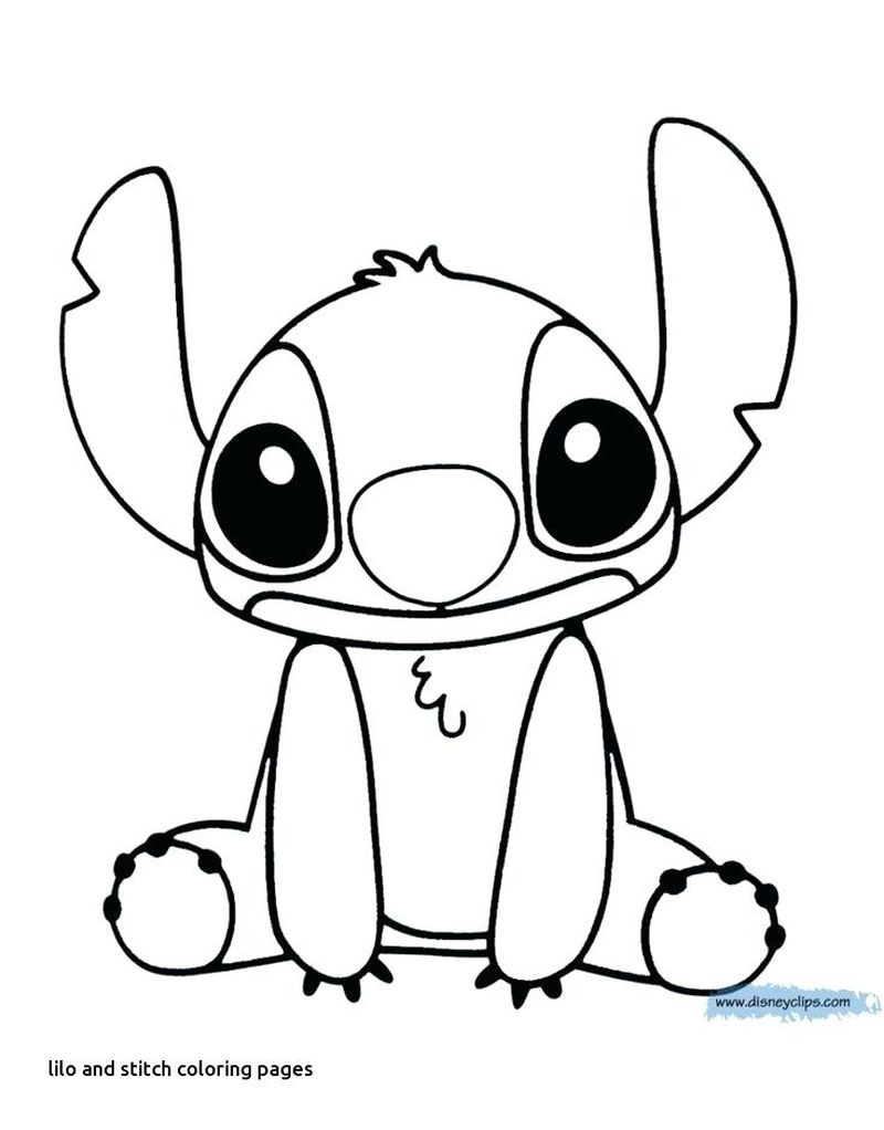 lilo and stich coloring page