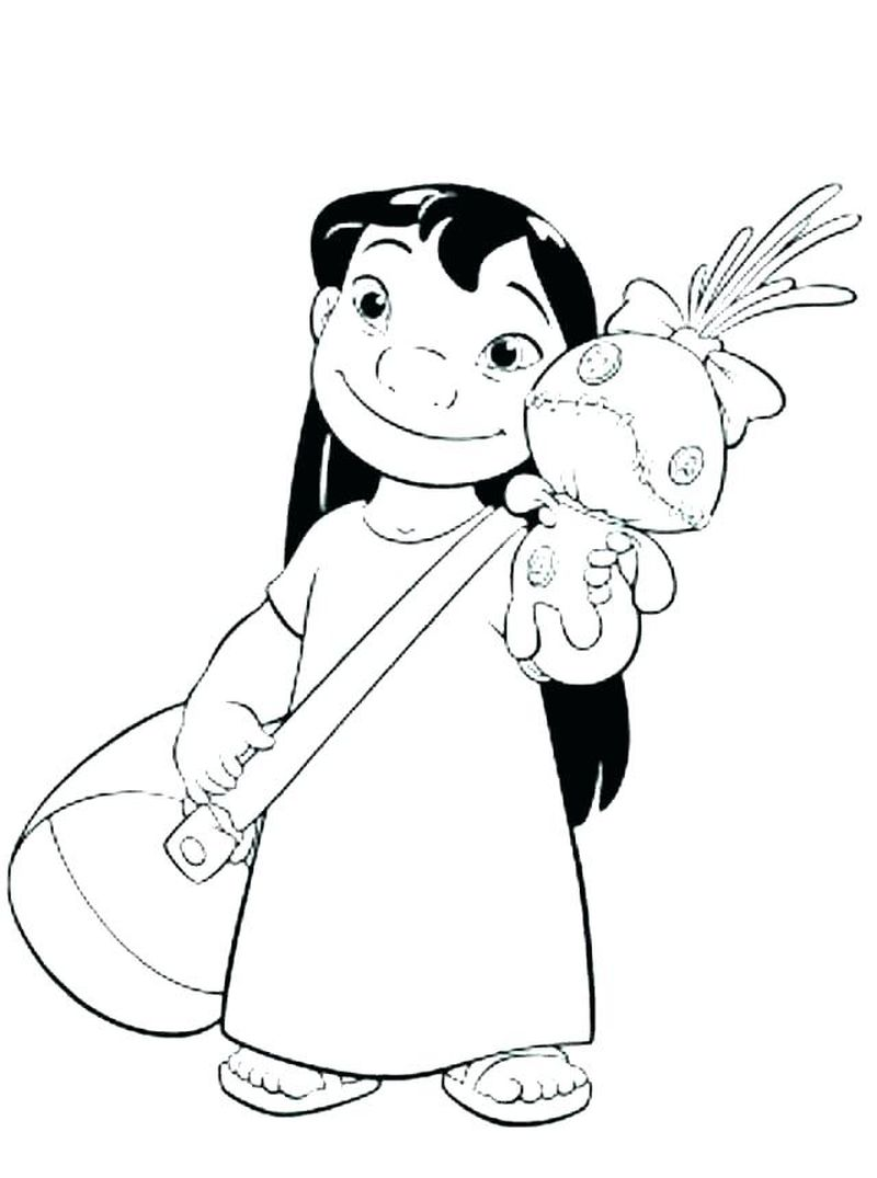 lilo and stitch PRINTABLE coloring pagesPrintable