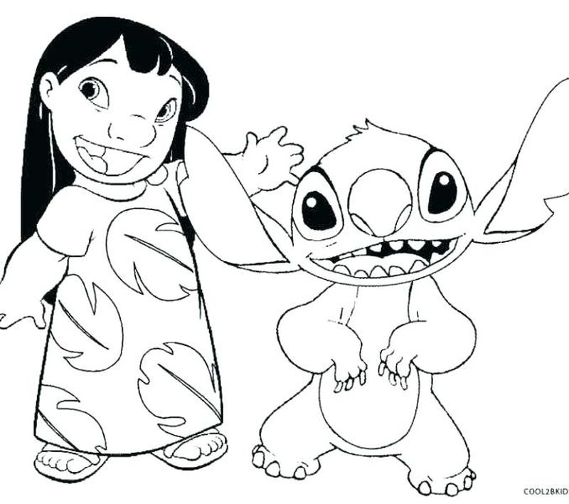 lilo and stitch color