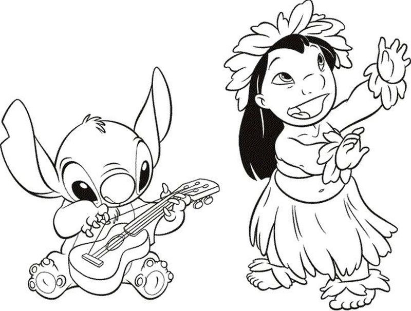 lilo and stitch colors