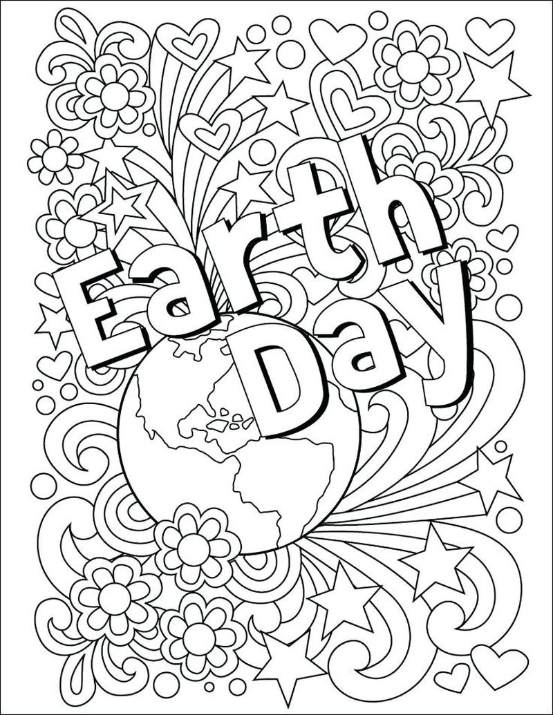 little mermaid earth coloring pagesPrintable