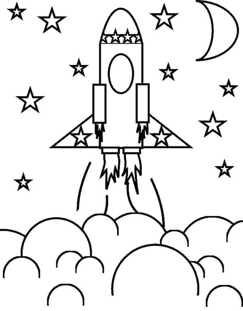 mariner 10 space coloring pages Printable