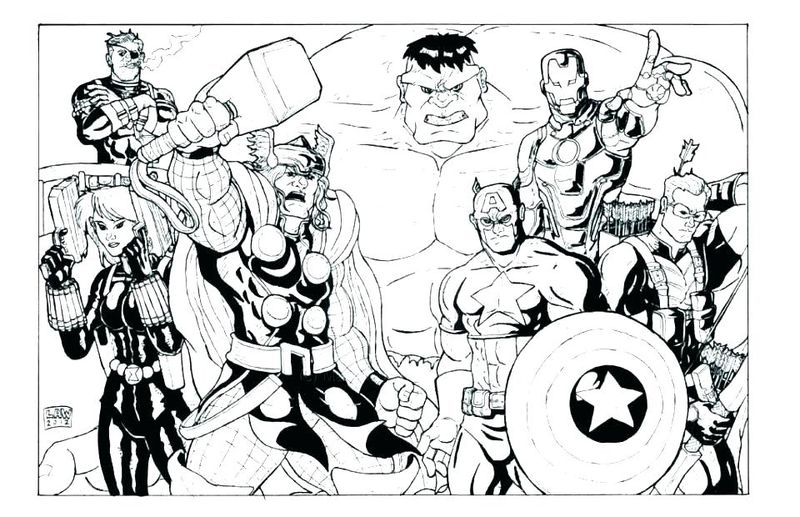 marvel coloring pages adults