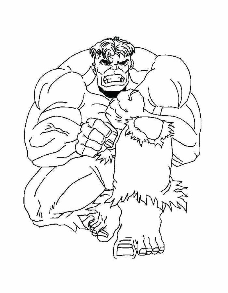 marvel coloring pages easy