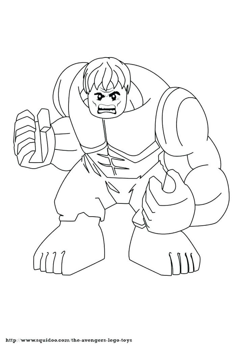 marvel coloring pages hulk