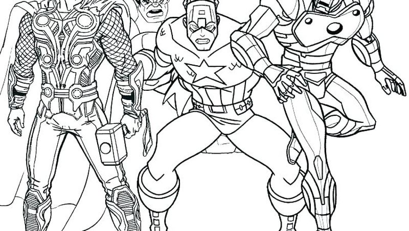 marvel coloring pages online